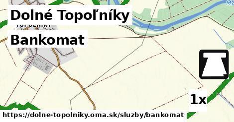bankomat v Dolné Topoľníky