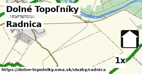 ilustračný obrázok k Radnica, Dolné Topoľníky