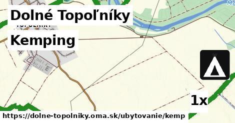 kemping v Dolné Topoľníky