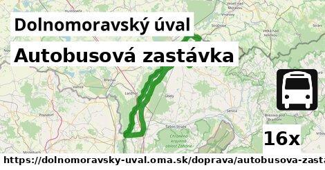 ilustračný obrázok k Autobusová zastávka, Dolnomoravský úval