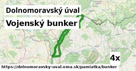 ilustračný obrázok k Vojenský bunker, Dolnomoravský úval