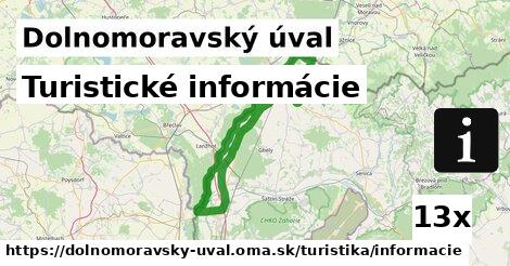 ilustračný obrázok k Turistické informácie, Dolnomoravský úval