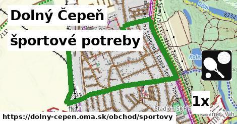 športové potreby v Dolný Čepeň