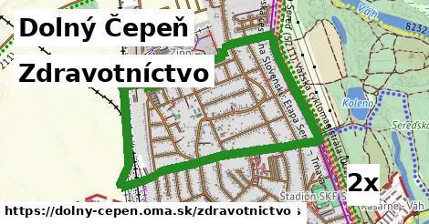 zdravotníctvo v Dolný Čepeň