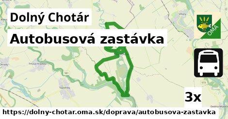 ilustračný obrázok k Autobusová zastávka, Dolný Chotár
