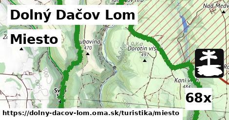 miesto v Dolný Dačov Lom