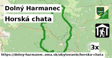 horská chata v Dolný Harmanec