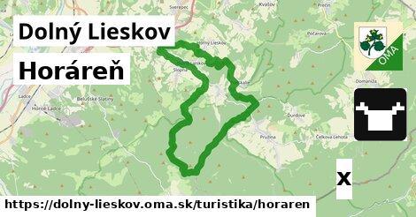 horáreň v Dolný Lieskov