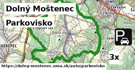 ilustračný obrázok k Parkovisko, Dolný Moštenec
