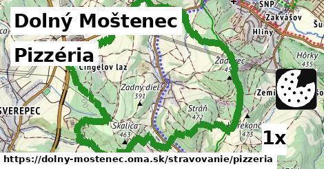 ilustračný obrázok k Pizzéria, Dolný Moštenec