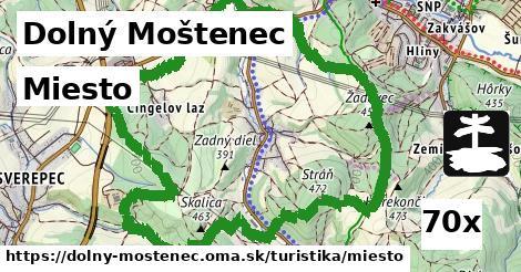 miesto v Dolný Moštenec