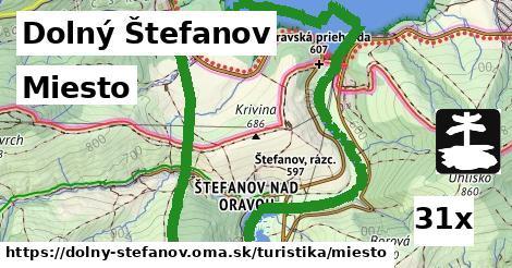 ilustračný obrázok k Miesto, Dolný Štefanov