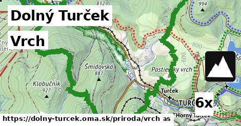 vrch v Dolný Turček