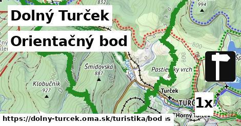 orientačný bod v Dolný Turček