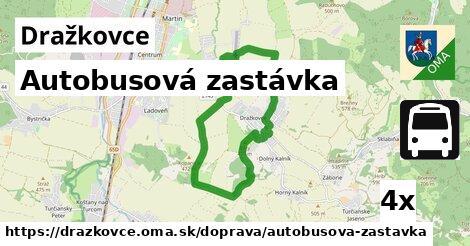 ilustračný obrázok k Autobusová zastávka, Dražkovce