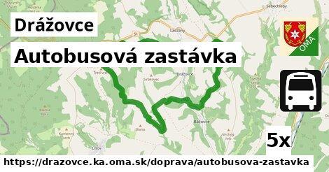 ilustračný obrázok k Autobusová zastávka, Drážovce, okres KA