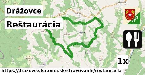 ilustračný obrázok k Reštaurácia, Drážovce, okres KA