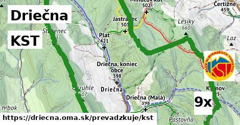 ilustračný obrázok k KST, Driečna