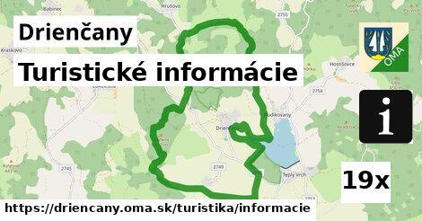 turistické informácie v Drienčany