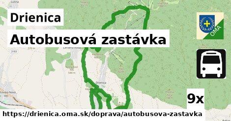 ilustračný obrázok k Autobusová zastávka, Drienica