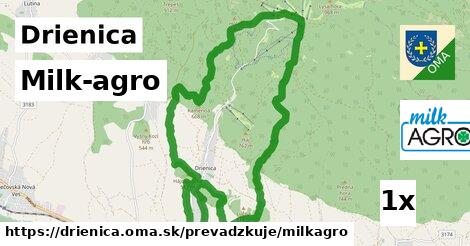 ilustračný obrázok k Milk-agro, Drienica