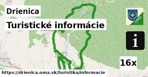 turistické informácie v Drienica