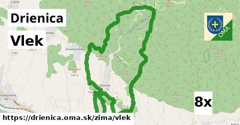 ilustračný obrázok k Vlek, Drienica