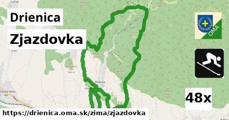 ilustračný obrázok k Zjazdovka, Drienica