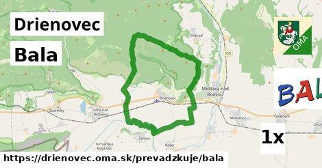 Bala v Drienovec