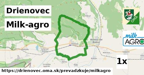 Milk-agro v Drienovec