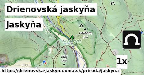 ilustračný obrázok k Jaskyňa, Drienovská jaskyňa