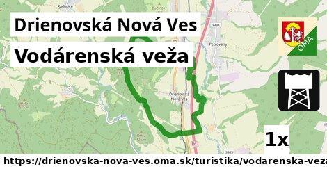 ilustračný obrázok k Vodárenská veža, Drienovská Nová Ves