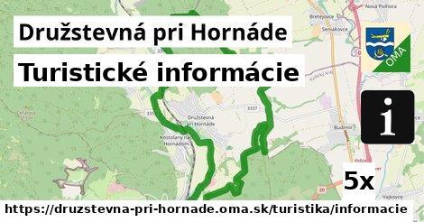 ilustračný obrázok k Turistické informácie, Družstevná pri Hornáde