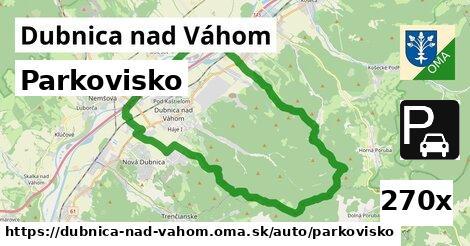 Parkovisko, Dubnica nad Váhom