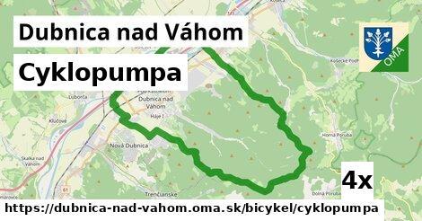 cyklopumpa v Dubnica nad Váhom