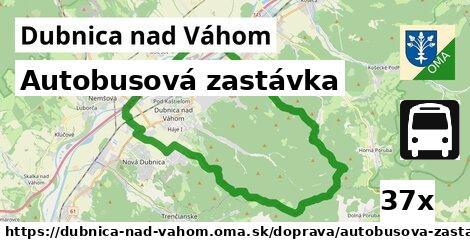 ilustračný obrázok k Autobusová zastávka, Dubnica nad Váhom