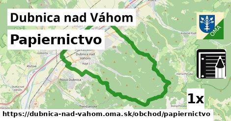ilustračný obrázok k Papiernictvo, Dubnica nad Váhom
