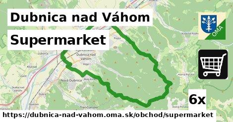 ilustračný obrázok k Supermarket, Dubnica nad Váhom