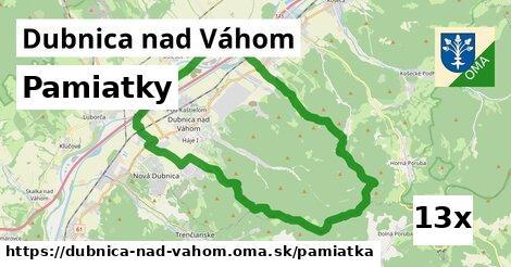 pamiatky v Dubnica nad Váhom