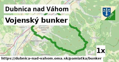 vojenský bunker v Dubnica nad Váhom