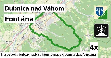 ilustračný obrázok k Fontána, Dubnica nad Váhom