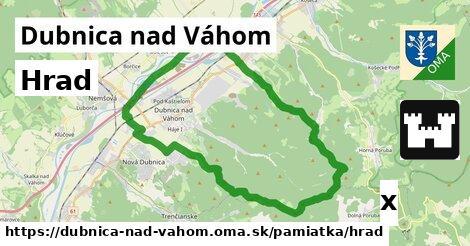 ilustračný obrázok k Hrad, Dubnica nad Váhom