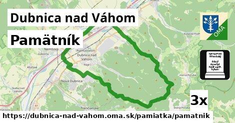 ilustračný obrázok k Pamätník, Dubnica nad Váhom