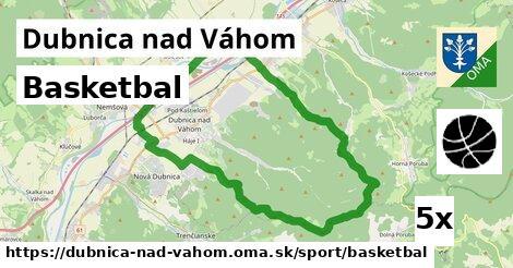 ilustračný obrázok k Basketbal, Dubnica nad Váhom
