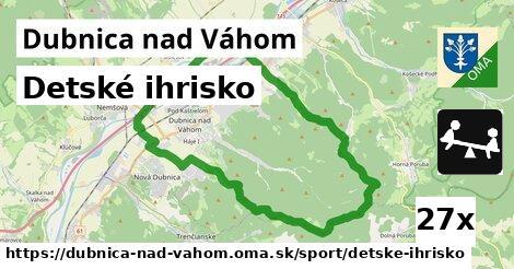 ilustračný obrázok k Detské ihrisko, Dubnica nad Váhom