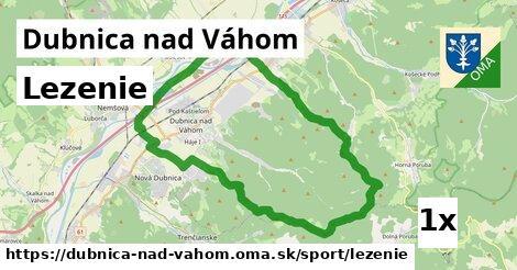 lezenie v Dubnica nad Váhom