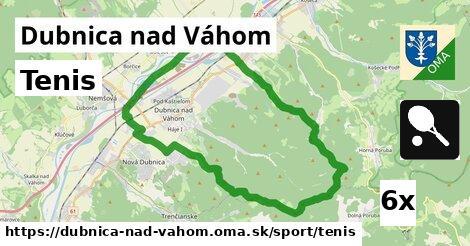 ilustračný obrázok k Tenis, Dubnica nad Váhom