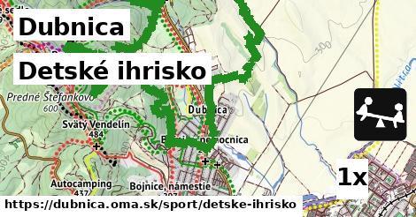 detské ihrisko v Dubnica