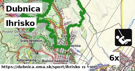 ihrisko v Dubnica