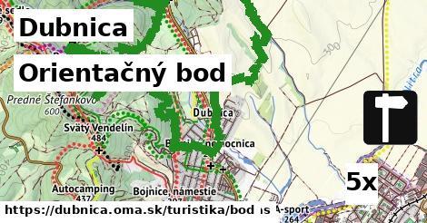 orientačný bod v Dubnica